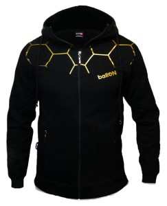 "Bluza rozpinana BallON ""OFFICIAL HOODIE GOLD"""